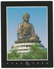 """China Hong Kong supersize postcard """"Great Buddha at Lantau Island"""" 2006"""