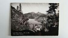 Cartolina Lago Piano Casere Alt. m. 1873 Zona Laghi Gemelli VIAGGIATA Postcard