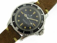 ROLEX GENUINE VINTAGE SUBMARINER 5513 CAL. 1520 AUTOMATIC 1970 RARE UNTOUCHED