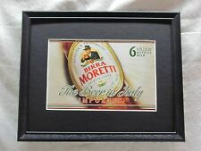 BIRRA MORETTI -NEW  BEER SIGN  #1032