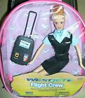"""Flight Attendant Doll WestJet Airlines 11"""" Blond with Backpack & Accessories New"""