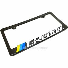 GReddy Logo License Plate Frame Black Plastic Official Genuine LIC02014