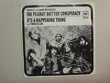 """PEANUT BUTTER CONSPIRACY:It's A Happening Thing-Twice Is Life-U.S. 7"""" 67 DJ PSL"""