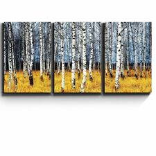 "3 Piece Canvas Print - Beautiful Aspen Trees Fall colors - 16""x24""x3 Panels"