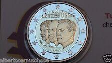 2 euro 2011 Fs BE PP proof specchio LUSSEMBURGO Luxembourg Luxemburg Luxemburgo