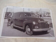 1947 CHEVROLET PANEL TRUCK 11 X 17  PHOTO /  PICTURE