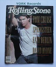 ROLLING STONE MAGAZINE - Issue 569 January 11th 1990 - Tom Cruise / Springsteen