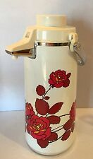 Vtg Zojirushi Air Pot Tea/Beverage Dispenser Vacuum Thermos Carafe Japan