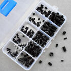 200pcs 12.9 class Allen Head Socket Hex Set Grub Screw Assortment Kit Cup Point