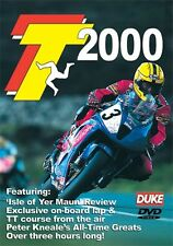 Isle of Man TT - Official Review 2000 (New DVD) Dunlop Jefferies Duffus