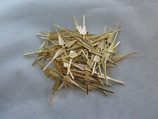 100  ARROW CONNECTOR PINS 33 mm GOLD CHANDELIER PARTS LAMP CRYSTAL PRISM BEAD