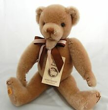 """Merrythought Teddy Bear Mohair Open Mouth 14"""" Sgd B T Homes LE 479/500"""