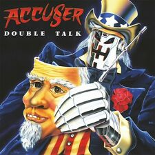 ACCUSER - Double Talk (NEW*LIM. 100 BLUE VINYL + POSTER*GER THRASH METAL CLASSIC