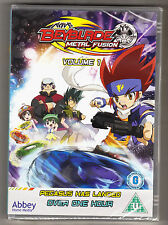BEYBLADE - METAL FUSION - VOLUME 1 - PEGASUS HAS LANDED - NEW & SEALED R2 DVD