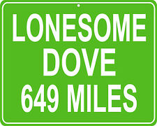 Lonesome Dove in Texas - distance to your house