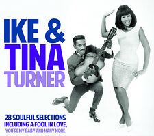 CD IKE & TINA TURNER 28 SOULFUL SELECTIONS A FOOL IN LOVE YOU'RE MY BABY GULLEY