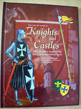 Knights & Castles (Step Into The World Of) Hardback Robert Frederick 2005 New