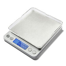 Etekcity 0.01oz 2000g Digital Pocket Kitchen Jewelry Scale Stainless Steel