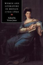 Women and Literature in Britain, 1700-1800, , Acceptable Book