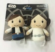 Itty Bitty Star Wars Duo Han Solo & Princess Leia Collectors Edition
