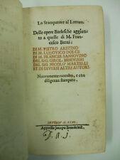 AA. VV., Delle opere burlesche aggiunte a quelle di M. Francesco Berni