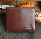 Leather Men's Wallet Brand Clutch Bifold Coin Purse Fashion Card Holder Wallets