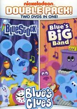 Blue's Clues: Blue's Big Band/Bluestock [2 Discs] (2012, REGION 1 DVD New)