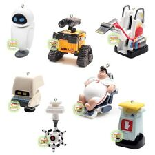 Disney Wall-E EVE M-O Captain 7pcs Figure Figurine Halloween Mini Xmas Ornament