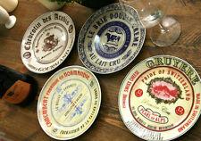 Juego De 4 Vintage Estilo Gourmet Queso De Placas De Sombrero Caja por tapas creativas
