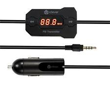 Universal Wireless FM Transmitter with USB car charger for smartphone MP3 & MP4
