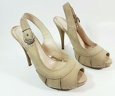 Kate Kuba tan leather high heel shoes uk 5 eu 38