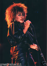 TINA TURNER PHOTO 1985 UNIQUE UNRELEASED IMAGE 7 INCH CLOSE UP EXCLUSIVE PHOTO