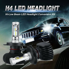 2x H4 HB2 9003 160W PHILIPS CSP LED Headlight Kit Hi-Low Beam Bulbs 16000lm Lamp