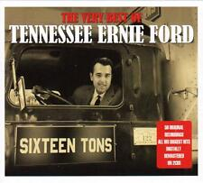 TENNESSEE ERNIE FORD - THE VERY BEST OF, 50 ORIGINAL RECORDINGS (NEW SEALED 2CD)