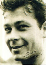 JUST FONTAINE FRENCH WORLD CUP LEGEND HANDSIGNED PHOTOGRAPH 7 x 5