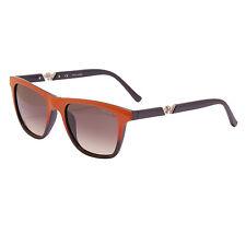 Police - Shiny Orange & Blue Classic Style Drift 3 Sunglasses with Case and Box