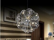 Dandelion Flower Star light K9 Crystal Ball Pendant Lamp LED 35 cm 12 bulbs