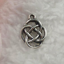 Free Ship 320 pieces tibet silver bud charms 18x13mm  #108