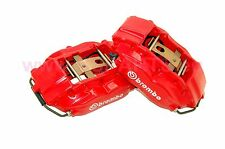Refurbished BMW e38 728i, 730d 735i BREMBO Front Brake Calipers Pair RED!!!