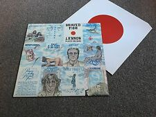 JOHN LENNON - SHAVED FISH - 1975 LP WITH INNER SLEEVE EX - BUY MORE COMBINE POST