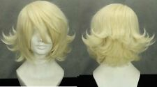 TIGER & BUNNY Light Yellow Anime Cosplay Wig+ Gift Wigs Cap