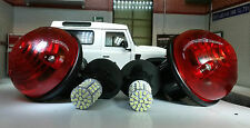 Land Rover Defender TD5 TDCI Brake/Tail Light/Lamp Genuine Wipac x2 LED Bulbs