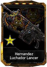 Gears of War 4 Lucador Lancer