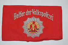 Original  Helfer Der Volkspolizei East German Police Armband