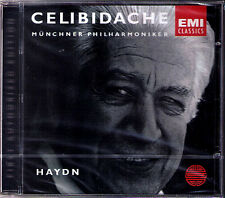 Sergiu CELIBIDACHE: HAYDN Symphony No.103 Drum Roll 104 London CD EMI München