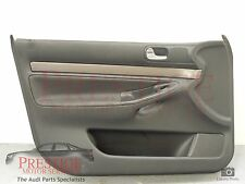 Audi A4 B5 NS Left Front Black Door Card