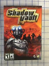 SHADOW VAULT PC CDROM WINDOWS XP - COLLECTIBLE *BRAND NEW RETAIL FACTORY SEALED*