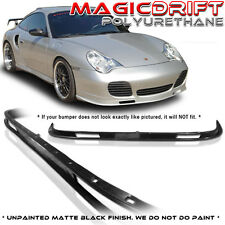 PORSCHE 911 996 TURBO CARRERA 4S PU FRONT BUMPER LIP SPOILER AERO BODY KIT 01-05