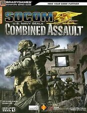 Socom U. S. Navy Seals Combined Assault Series Guide for PS2, 2006,PB, LikeNew