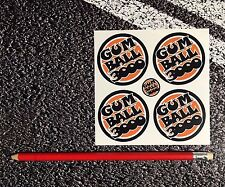 GUMBALL 3000 Wheel Centres Vinyl Stickers 50mm FERRARI LAMBORGHINI Road Race